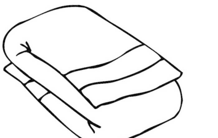 Beach Towel Clipart.