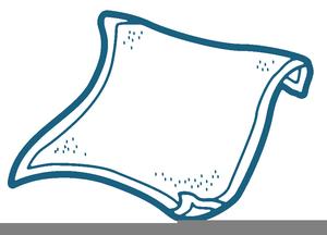 Free Beach Towel Clipart.