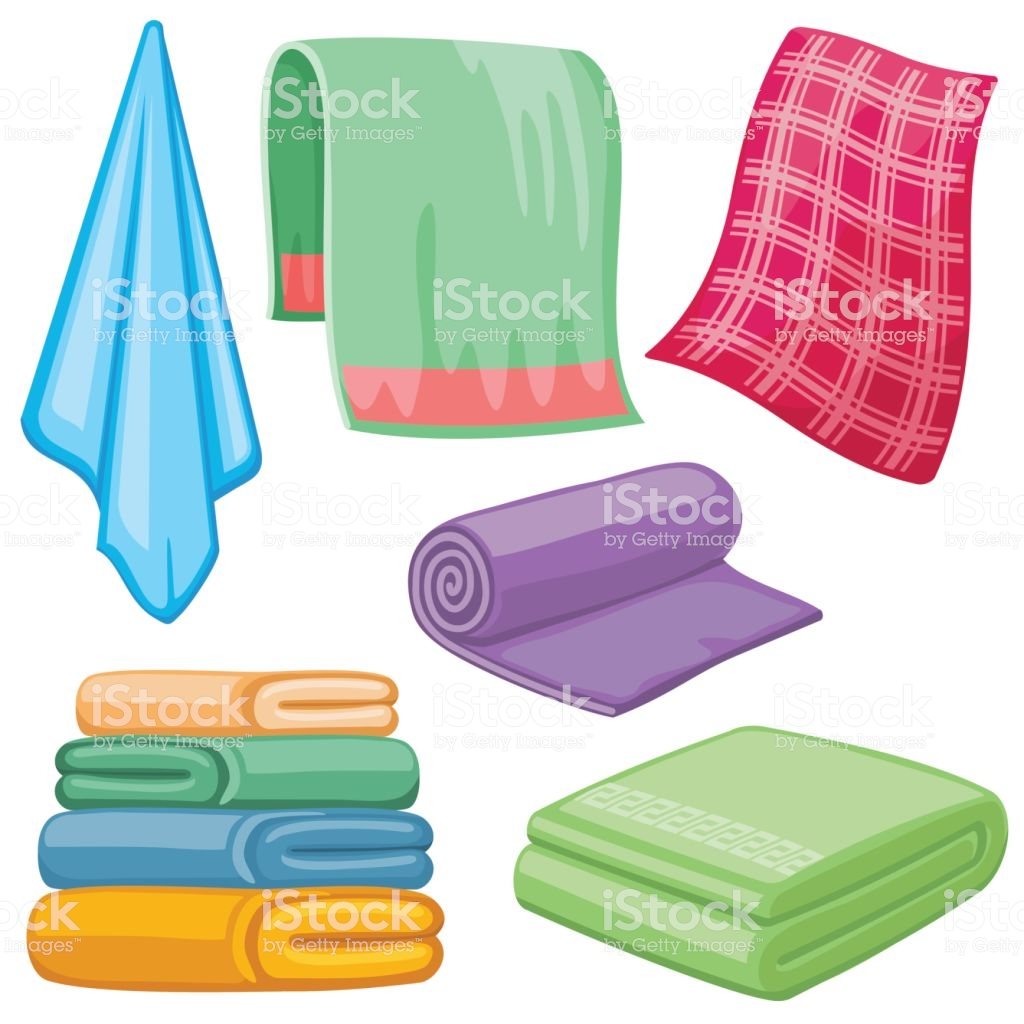 Royalty Free Dry Towels Clip Art, Vector Images, Cartoon.