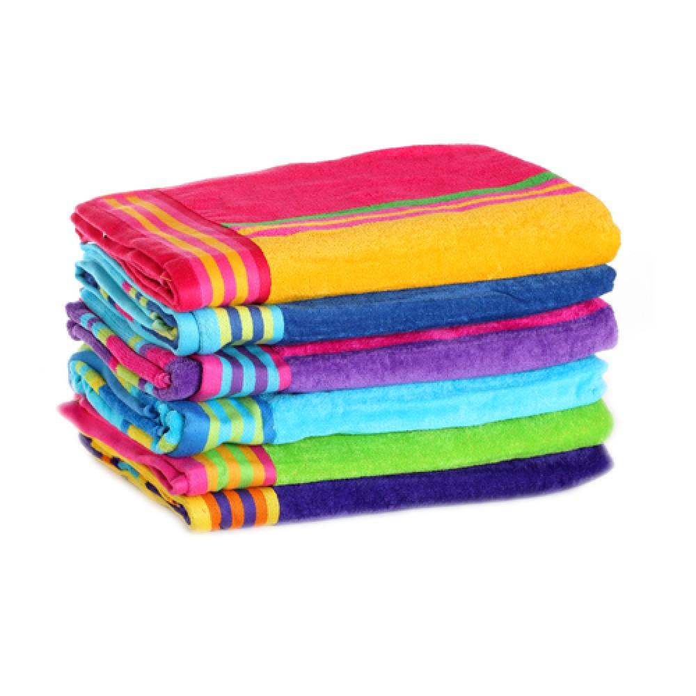 Beach towels clipart.