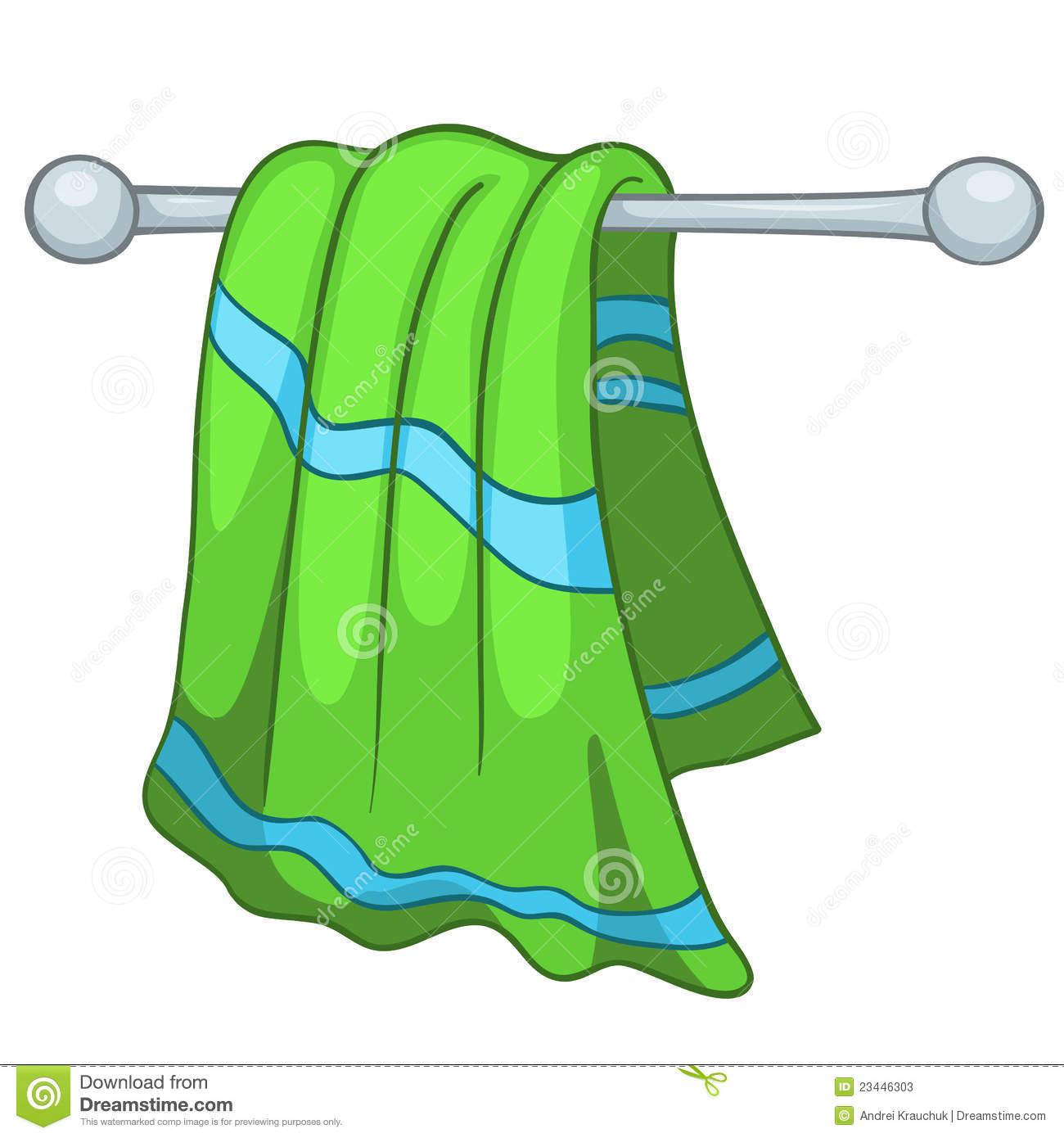 Towel Clip Art: Tea Towels Clipart
