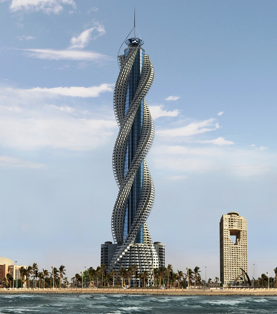 Spiraling Skyscrapers: Rounding Up the World's Tallest Twisting.