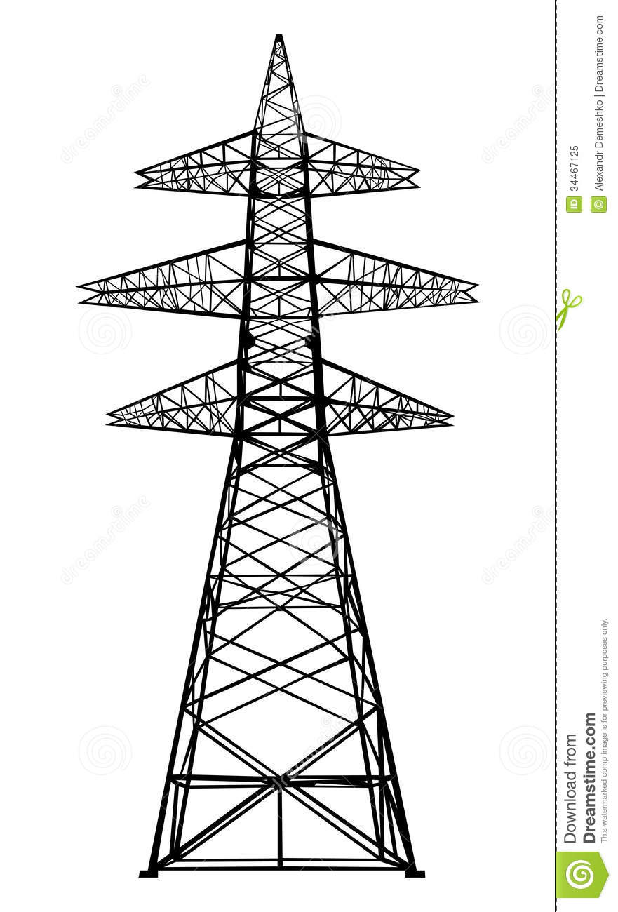 Electrical Tower Clipart Clipground