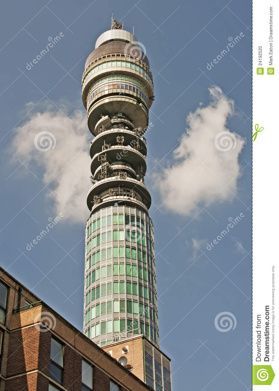 BT Tower, London Editorial Image.