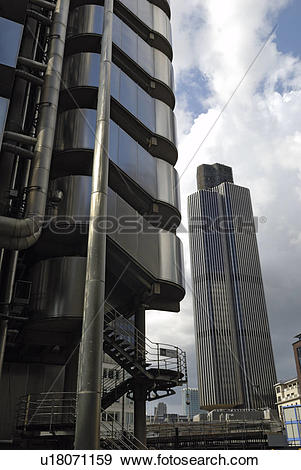 Stock Photograph of England, London, City of London, The Lloyds.