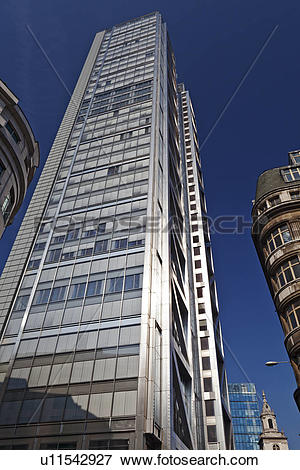 Picture of England, London, City of London. Heron Tower (110.