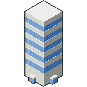 isocity blue tower clipart, cliparts of isocity blue tower free.