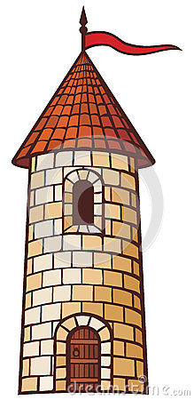 Medieval Tower Clipart.