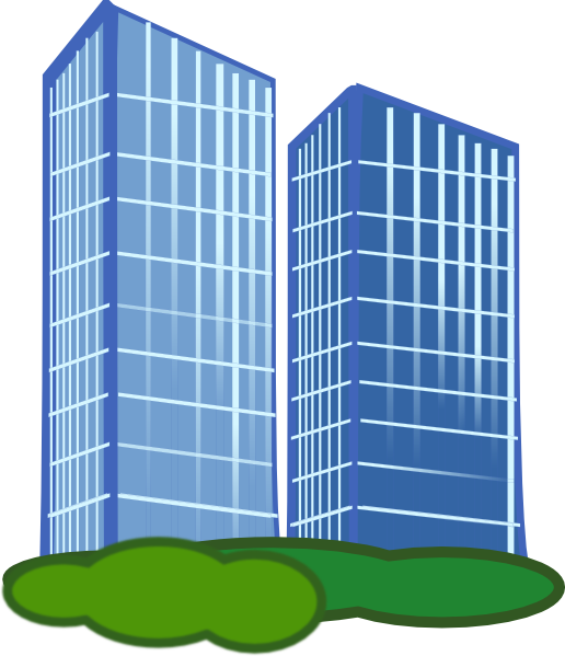 Commercial Building Clipart.