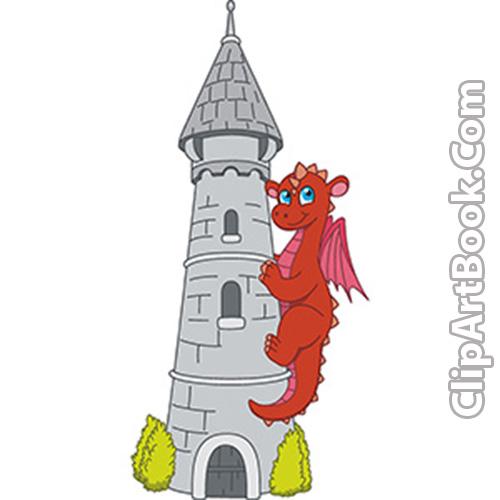 Castle tower clip art.