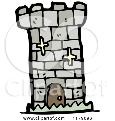 Cartoon of a Castle Tower.