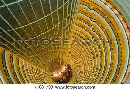 Drawing of Jin Mao Tower k1081733.