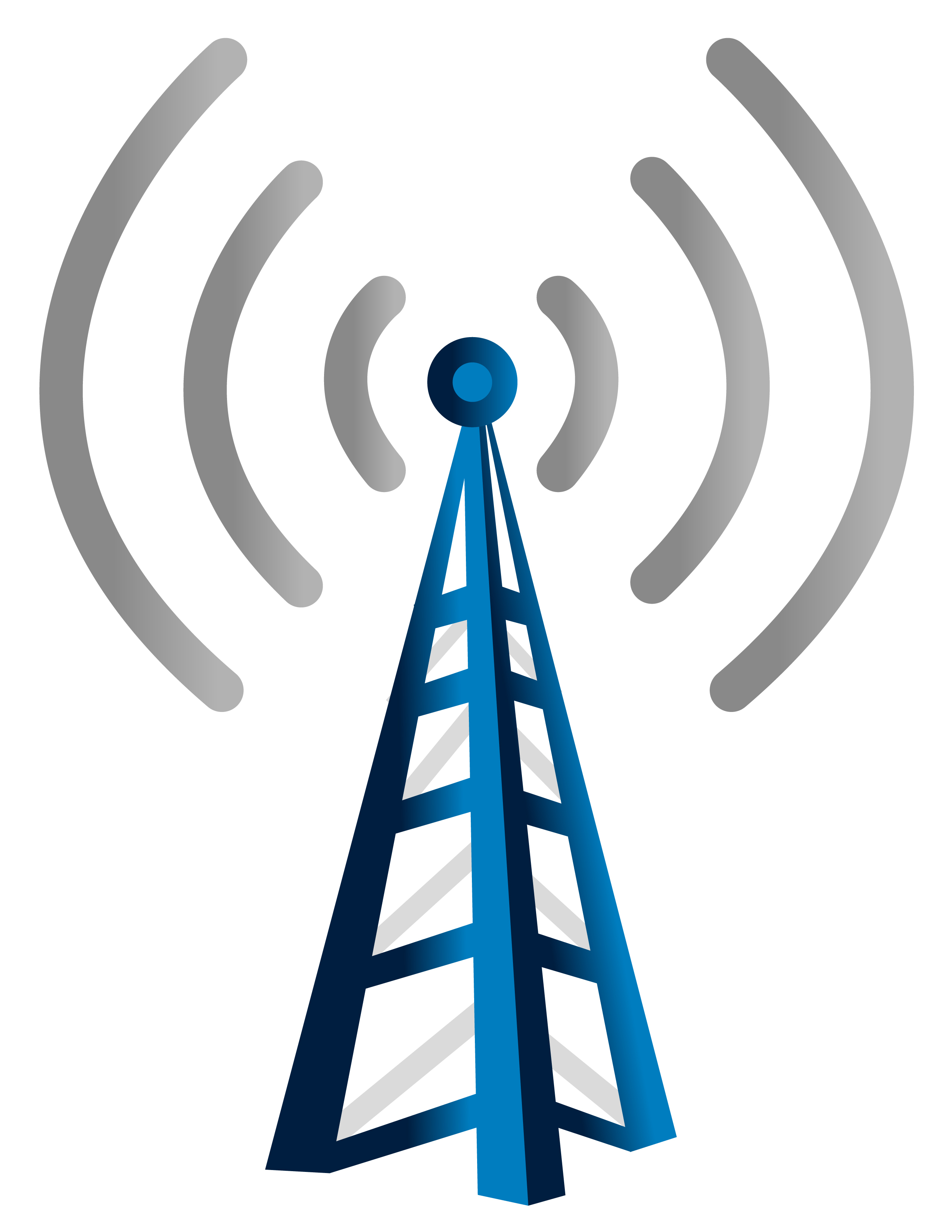 Radio Tower Clipart.