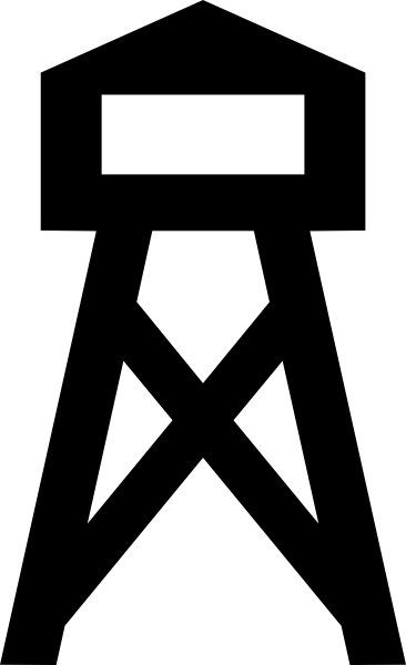 Fire Tower clip art Free Vector / 4Vector.