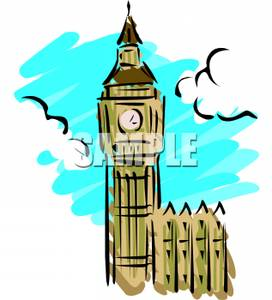 Large Clock Tower.