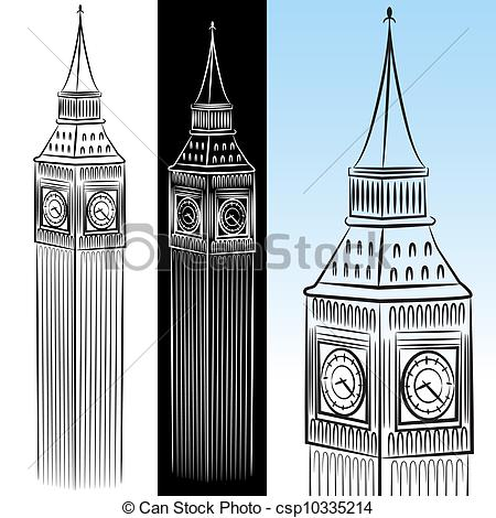 Tower clock Clip Art Vector and Illustration. 1,380 Tower clock.