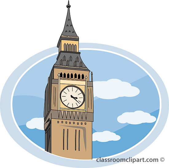 London Tower Clipart.