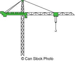 Construction crane clipart.