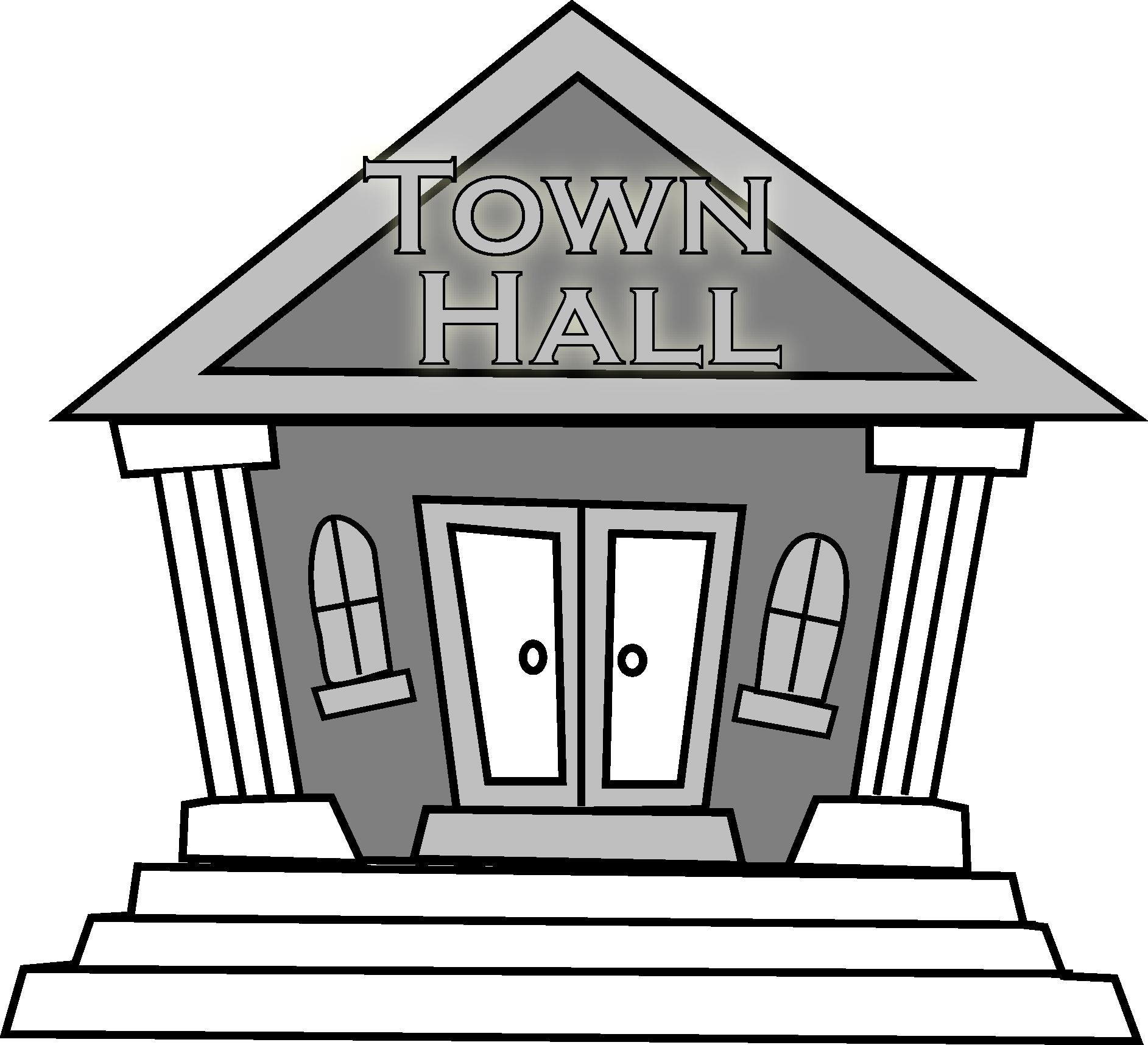 Town Council Clipart.