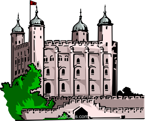 Clipart tower of london.