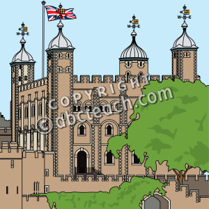 Tower Of London Clipart Etc.
