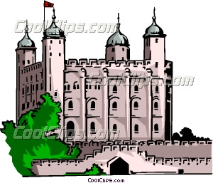 Tower of London Clip Art.