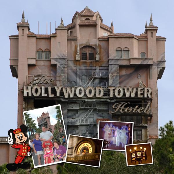 Más de 1000 imágenes sobre Tower of Terror Scrapbook pages en.