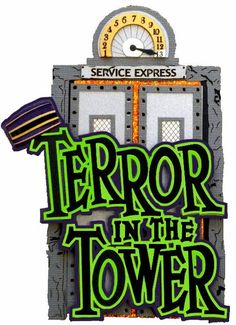 Tower of terror logo clipart.