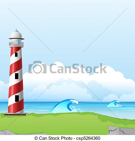 Tower of light clipart #11