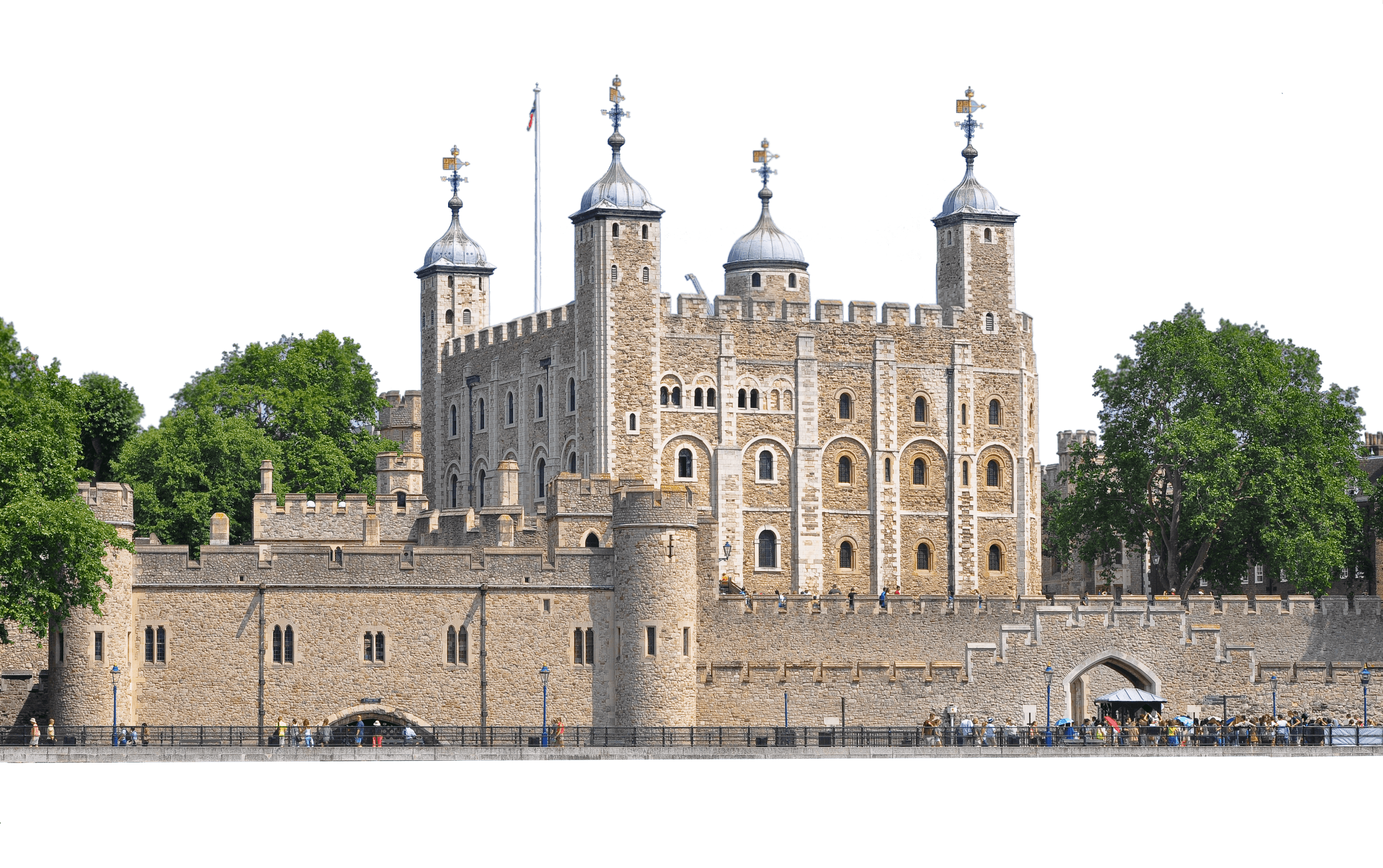 Tower Of London transparent PNG.