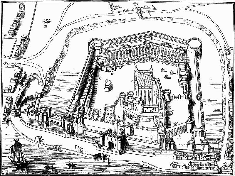 p.210] The Tower of London.