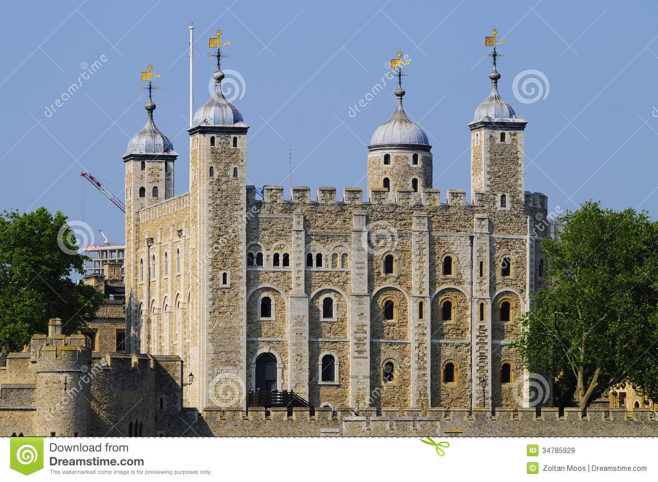 Tower Of London Royalty Free Stock Images.