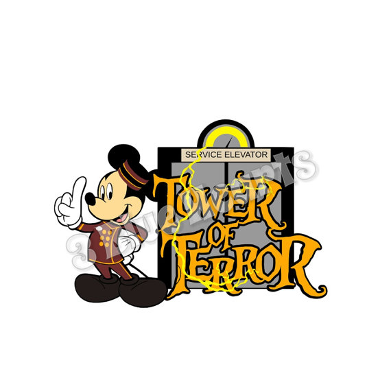 Tower of Terror SVG dxf pdf Studio, Hollywood Studios.