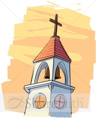 Church bell clipart.
