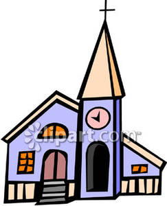 Church Bell Tower Clipart.