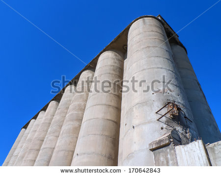 Cement Silo Stock Photos, Royalty.