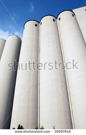 Corn Silo Stock Photos, Royalty.
