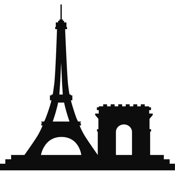 Paris skyline, Wall decals and Towers on Pinterest.