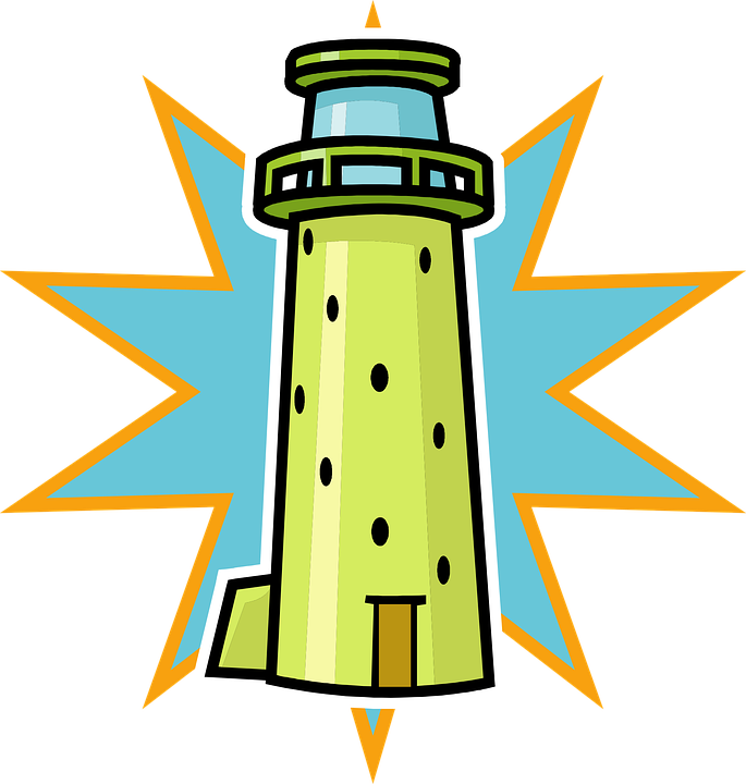 Lighthouse windows clipart.