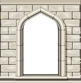 Castle window clipart.