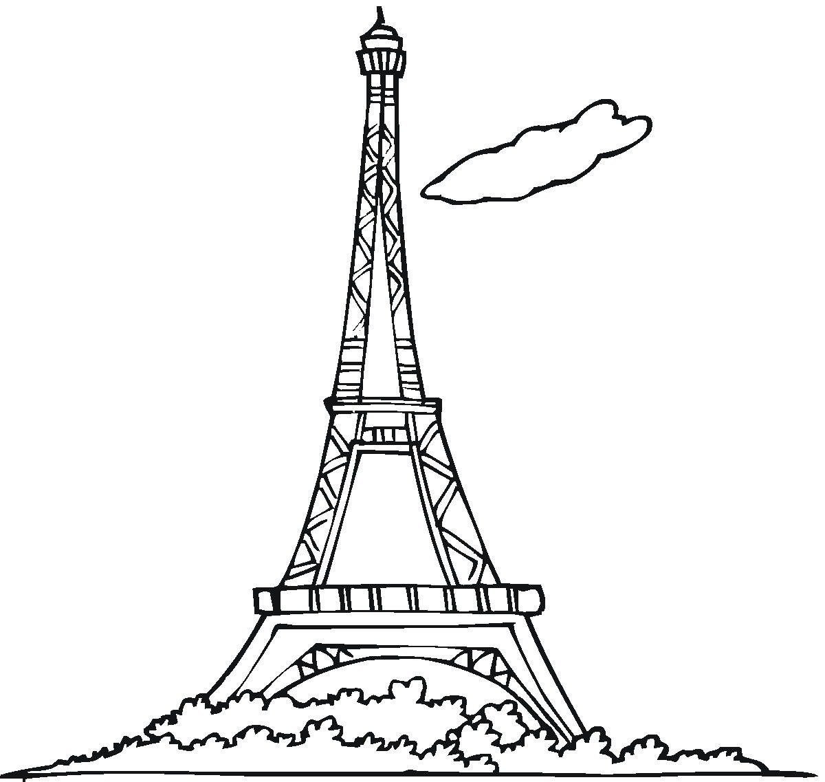 Tower with spire clipart #16