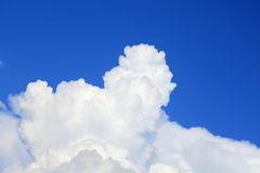 Towering Cumulus Clouds Stock Photo.