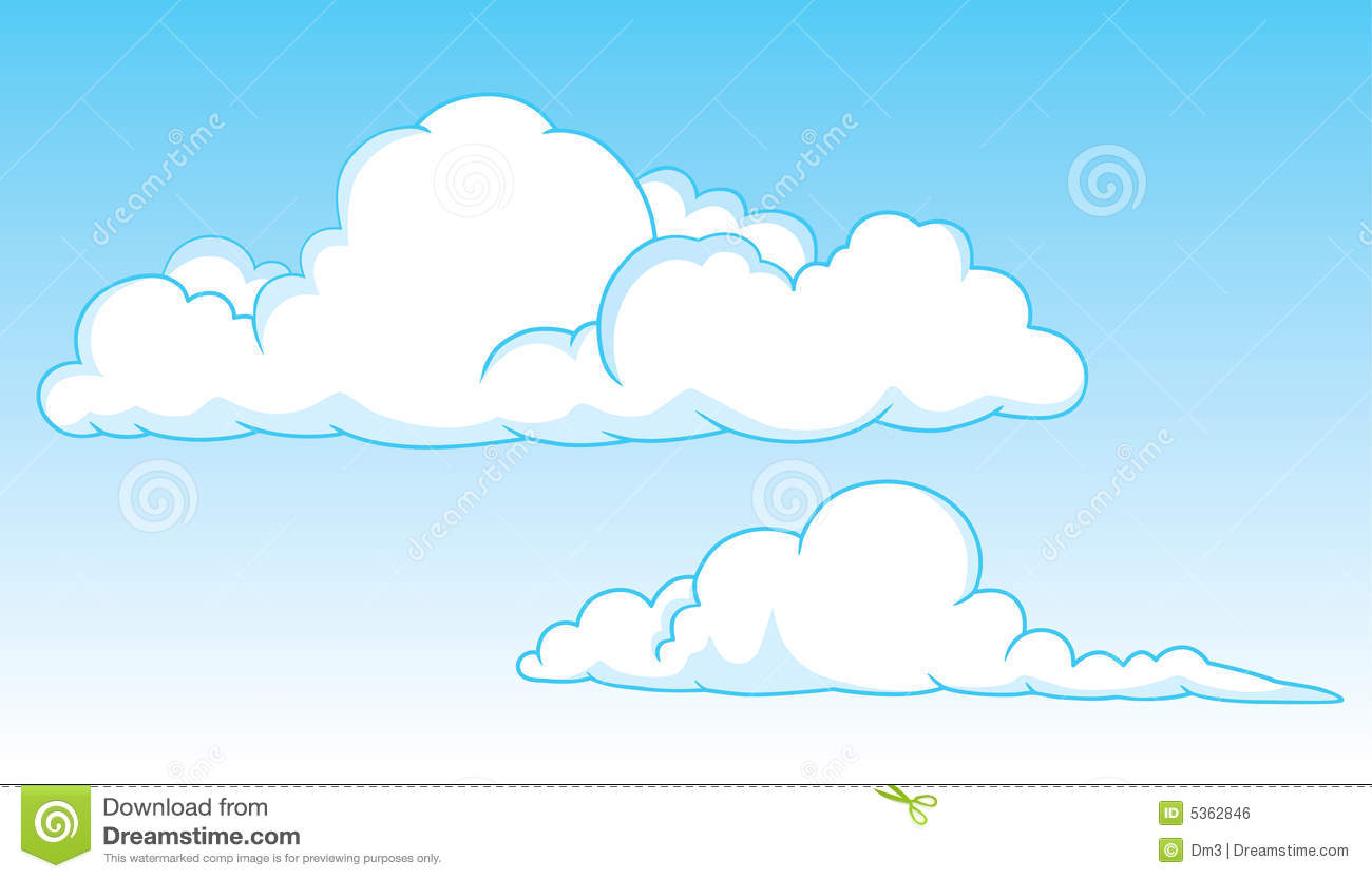Stratus Cloud Clipart.