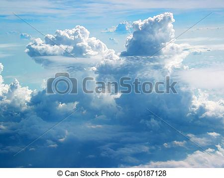 Pictures of Clouds From Plane.