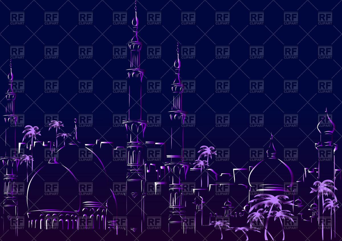 Oriental (arabic) City.