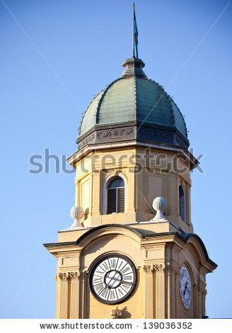 Tower Clock Stock Photos, Royalty.