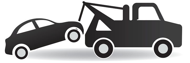 Towing Car Clip Art.