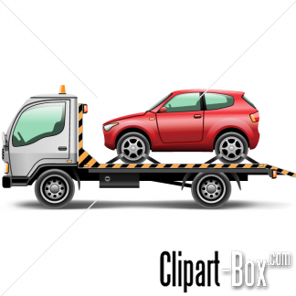 CLIPART TOW TRUCK.