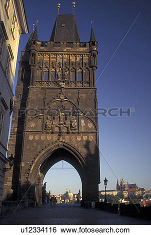 Stock Images of Prague, Czech Republic, Praha, Central Bohemia.
