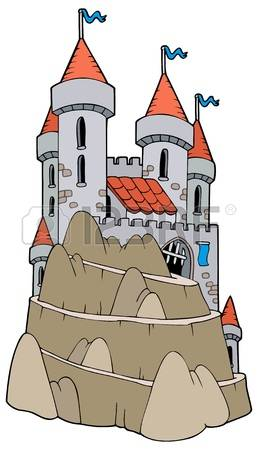 Ancient Castle Stock Vector Illustration And Royalty Free Ancient.